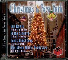 CD: Christmas in New York (Louis Armstrong Frank Sinatra  Doris Day Lou Rawls...