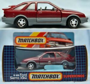 Ford Sierra XR4i - K100 - MATCHBOX SUPERKINGS - BOXED *** MINT CONDITION ***