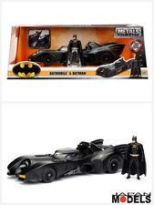Batman Classic BATMOBILE Tim Burton 1989 Metal Die Cast Figure Jada Toys 1/24