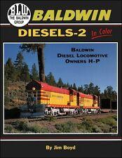 Baldwin Diesels - 2 In Color / railroads / trains