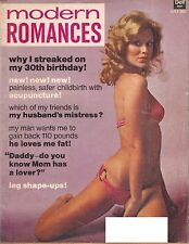 Vintage MODERN ROMANCES Magazine July 1974 Stories Articles Beauty Dell 04401