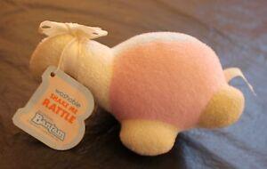 Bantam Terrycloth Dinosaur Shake Me Rattle Pastel Dinosaur Unisex New Baby Toy