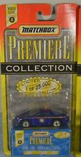 Matchbox Premiere Police Cars Collection World Class Series 8 New York Camero
