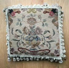 Lovely Vintage Cushion in Classic Needlepoint by Chelsea Textiles