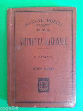 Manuali Hoepli - F. Panizza - Aritmetica razionale - Ed. Hoepli 1920