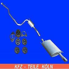 FORD PUMA - 1.4 16V - Agent + Muffler Exhaust System auspff + Set