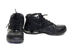 NIKE SHOX MTX FLIGHT Youth Basketball Shoe 5.5 Good Condition Black 312165-001