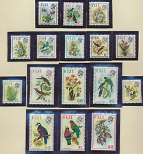 Fiji Stamps Scott #305 To 320, Mint Never Hinged
