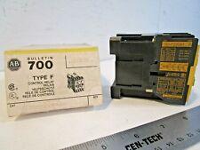 Allen Bradley 700-F220A1 Control Relay, Type F, 110/120 volt, 4 pole 2NO/2NC