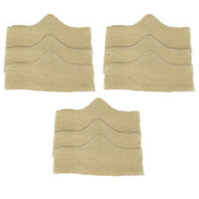 100% Pure Bamboo Cotton Bra Liner (Beige, 9-Pack, M) - Wicking & Antibacterial