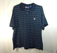 Ralph Lauren Chaps Short Sleeve Mens Polo Golf Dress Shirt Size 2XL XXL