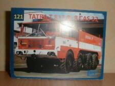 SDV LKW Bausatz Tatra T 813 8x8 Feuerwehr Varnsdorf
