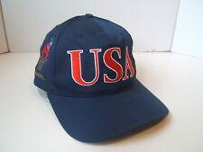 USA Atlanta 1996 Olympics Hat Vintage Starter Dark Blue Snapback Baseball Cap