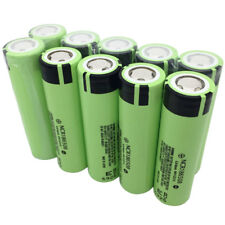 10X 18650 3400mAh High Drain NCR18650B 3.7V Li-ion Rechargeable Battery for Vape