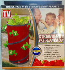 Strawberry Planters - Quantity of 2, Ideal for 18-20 Plants, As Seen on TV, New