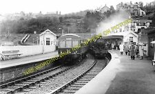 Wormit Railway Station Photo. Dundee to Newport & St. Fort Lines. Tay Bridge (3)