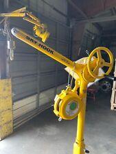 Sky Hook Mobile Reverse Cherry Picker Crane 500 lb Capacity Lift 8565
