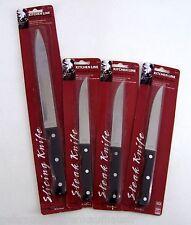 4er Set Kitchen Line Küchenmesser 1 Filiermesser & 3 Steakmesser