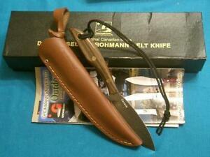 MIB GROHMANN RUSSELL#1 CANADA BELT HUNTING SKINNING KNIFE KNIVES FISHINGSURVIVAL