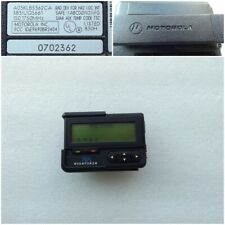 Vintage Pager Beeper Motorola Advisor Linguist with Case and Clip