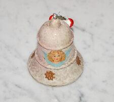 Alter Christbaumschmuck - Glocke aus Watte um 1900 / 1920  (# 6905)