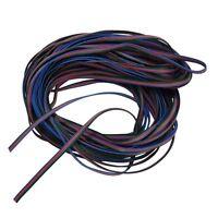 10- 20m LED RGB Strip Kabel 4-adrig Verlängerungskabel Anschlusskabel Verbindung