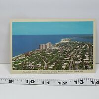 Vintage Postcard Mandalay Shores Gulf of Mexico Clearwater Beach Florida