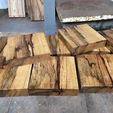 """Korina/black Limba Bowl Blank/wood turning/exotic Woods 10x10x2"""" exotic hardwood"""