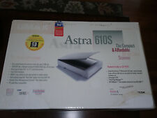 UMAX Astra 2400S Flatbed Scanner With SCSI Interface and Original box - no disk