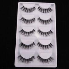 2018 Sale! NEW HW-10 5 pairs Clear band Nature False eyelashes fake eye lashes