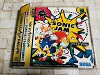 SONIC JAM Complete Set Sega Saturn SS From Japan