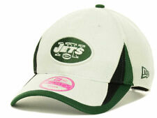 NEW YORK JETS NFL NEW ERA 9FORTY WOMENS WHITE AND GREEN TRAINING CAMP HAT CAP