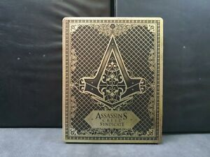 Assassin's Creed Syndicate Steelbook/Steel Case  (NO GAME/PS4/XBOX/Brand New)