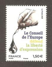 FRANCE 2021 - Timbres de Service N° Conseil de l'Europe  NEUF** LUXE