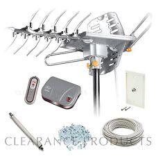 LAVA HD 2605 Rotating Indoor & Outdoor w/ Control Box UHF VHF HDTV Home Antenna