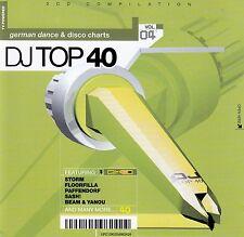 DJ TOP 40 VOL. 04 - GERMAN DANCE & DISCO CHARTS / 2 CD-SET - NEUWERTIG