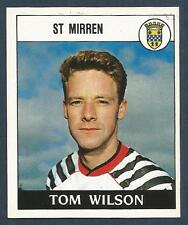 PANINI FOOTBALL 89-#463-ST MIRREN-QUEENS PARK-TOM WILSON
