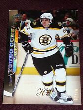 07-08 UD Exclusives MILAN LUCIC * 7/10 * HIGH GLOSS Young Guns RC HG * Edmonton