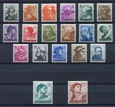 s580 ITALIA 1961 MNH** Michelangiolesca def. 19v complete
