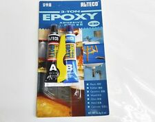 Alteco 3 Ton A+B Epoxy Adhesive For Most Surfaces Materials 30 min Blue