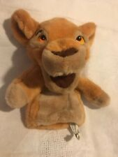 Hand Puppet Walt Disney Lion King Lion Plush With Squeaker