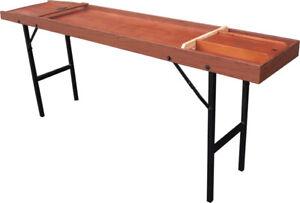 Shuffleboard (Sjoelbak)– Allure Full Size Folding Leg Pro Board