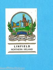 FOOTBALL CLUBS-PANINI 1975-Figurina n.212- LINFIELD  IRLANDA NORD -SCUDETTO-Rec
