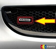 NEW GENUINE SMART FORTWO FORFOUR 453 FRONT GRILL BRABUS EMBLEM BADGE A4538171500