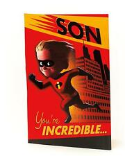 Disney's The Incredibles 2 – SON – Pop Up Birthday Card