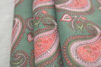2.5 Yard Indian Hand Made Block Print Fabric 100% Cotton Crafting Fabric