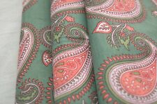 2.5 Yard Indian Hand Made Block Print Fabric 100% Cotton Crafting Fabric