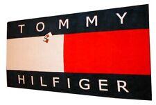 NWT TOMMY HILFIGER CLASSIC FLAG BEACH/BATH TOWEL L@@K