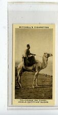 (JC9969-100)  MITCHELL,OUR EMPIRE,POLICEMAN ON CAMEL,1937,#13