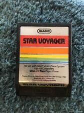 Star Voyager Imagic Atari Video Game System One Two Player #IA 3201